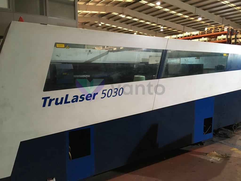 TRUMPF TruLaser 5030 Laser cutting machine (CO2) (2007) id10353