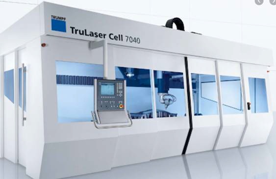 TRUMPF TruLaser 7040 CELL Laser cutting machine (CO2) (2008) id10354