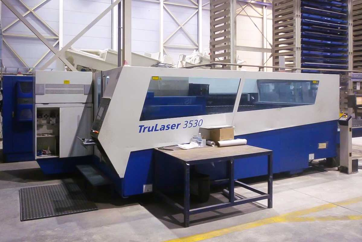 Machine de découpe laser (CO2) TRUMPF TRUMATIC L3530 (2008) id5589