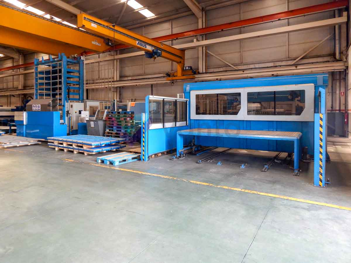 FINN POWER SG6 CNC shear punching machine (2005) id5605