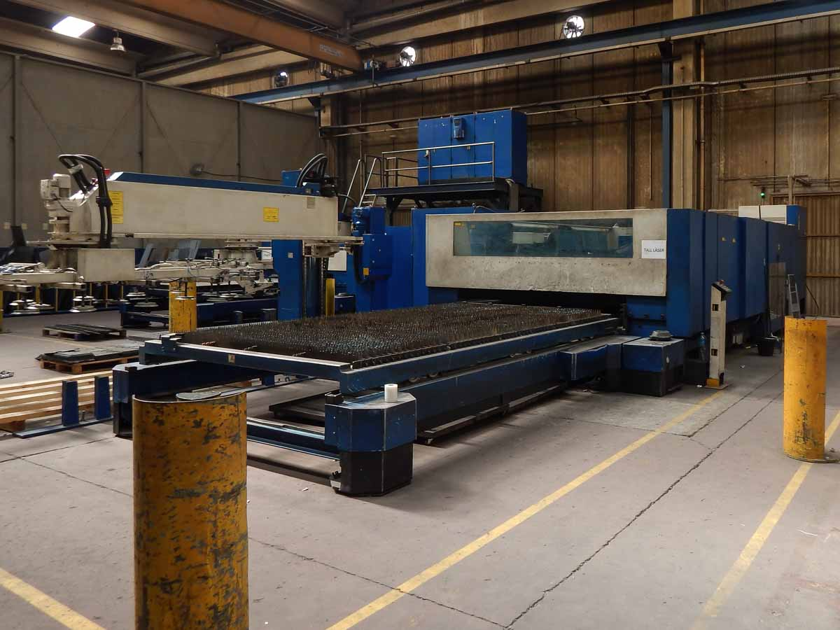 Machine de découpe laser (CO2) TRUMPF TRUMATIC L4050 (2003) id5614