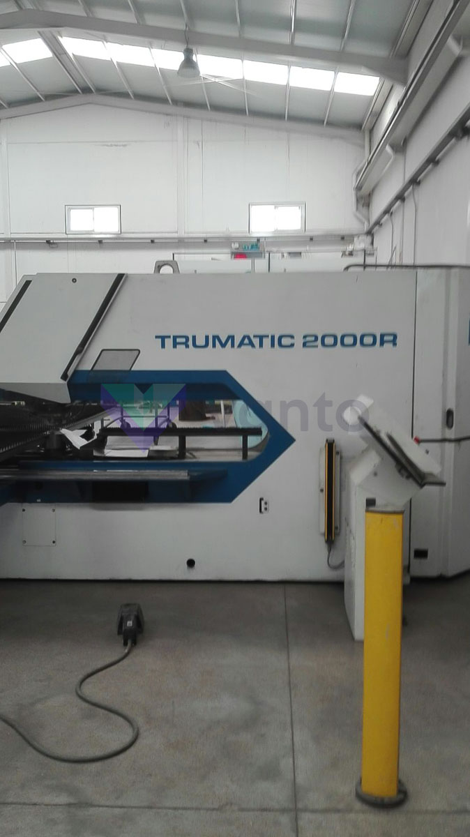 TRUMPF TC 2000 R CNC punching machine (2000) id5640