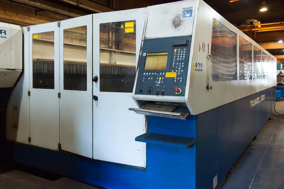Machine de découpe laser (CO2) TRUMPF TRUMATIC L6030 (2000) id10100