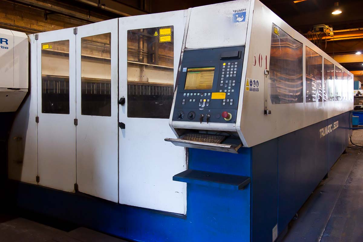 TRUMPF TRUMATIC L6030 Laser cutting machine (CO2) (2000) id10100
