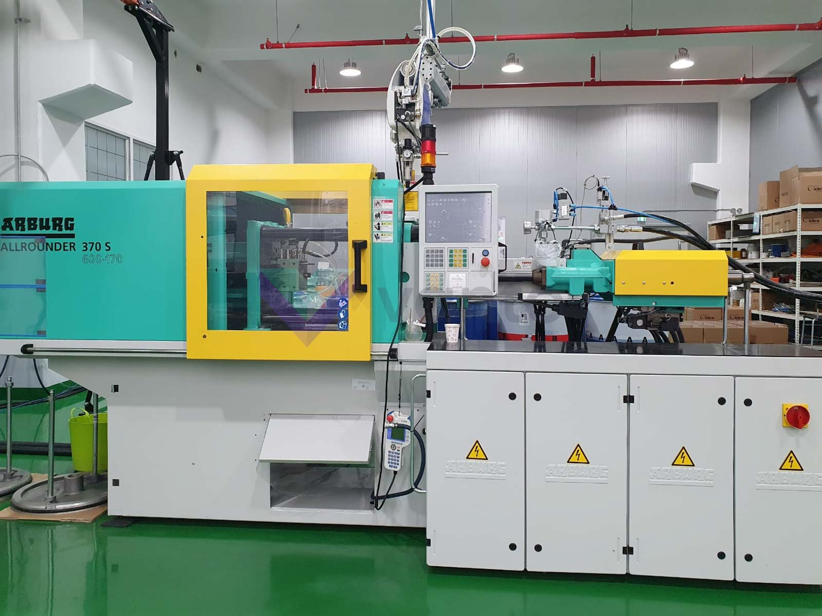 ARBURG 370 S 600-170 ALLROUNDER 60t injection molding machine (2016) id10490