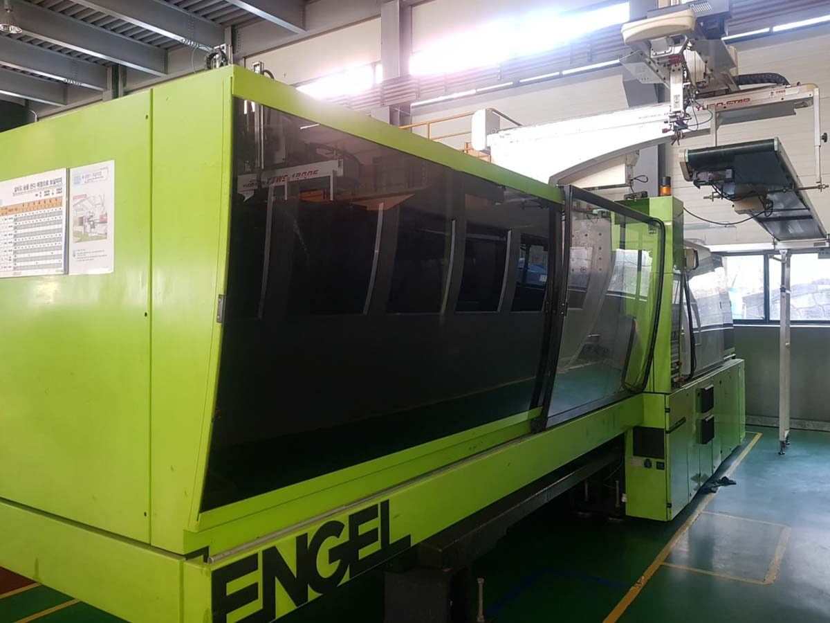 Machine de moulage par injection 400t ENGEL ES 1800 / 400 HL PRO SERIES (2004) id10130