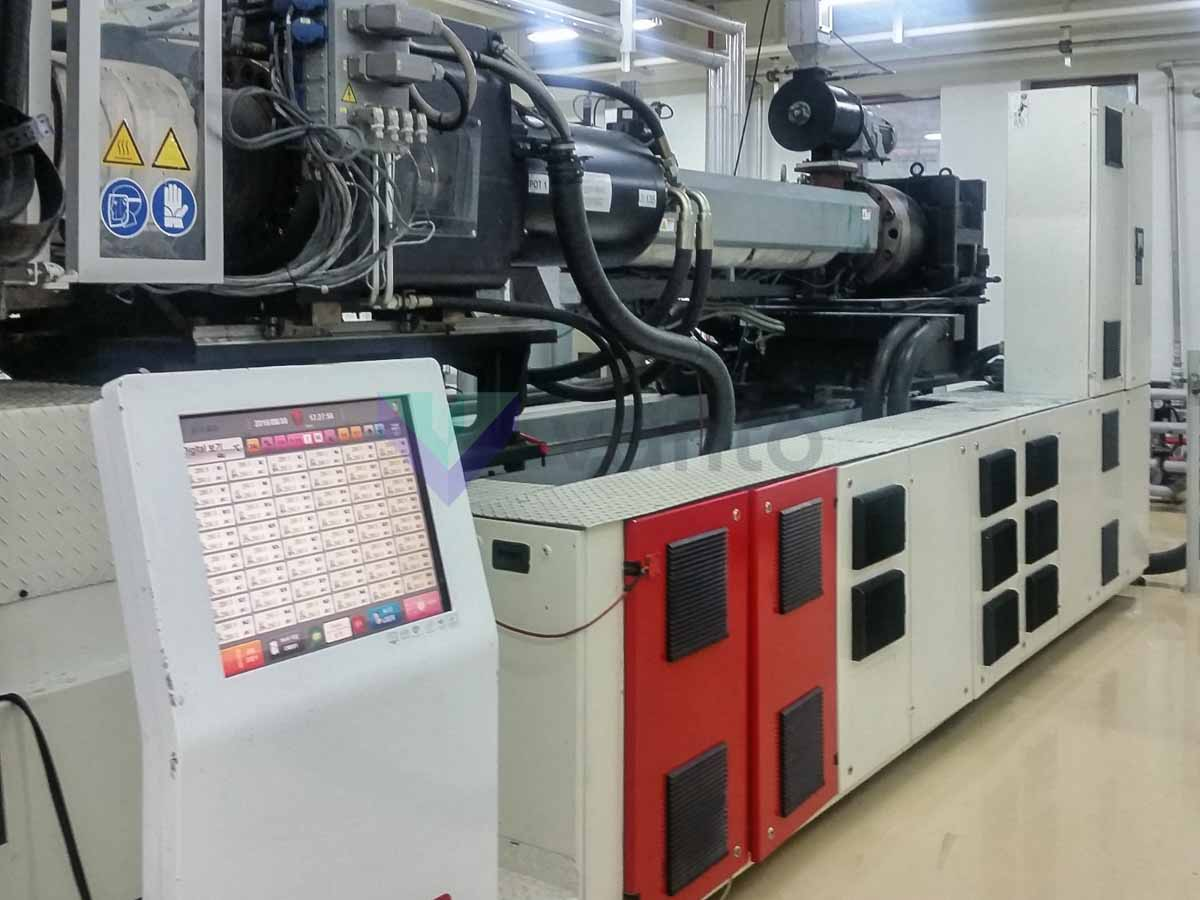 ENGEL PET II 4650 / 320 PET preform injection molding machine (2008) id10352