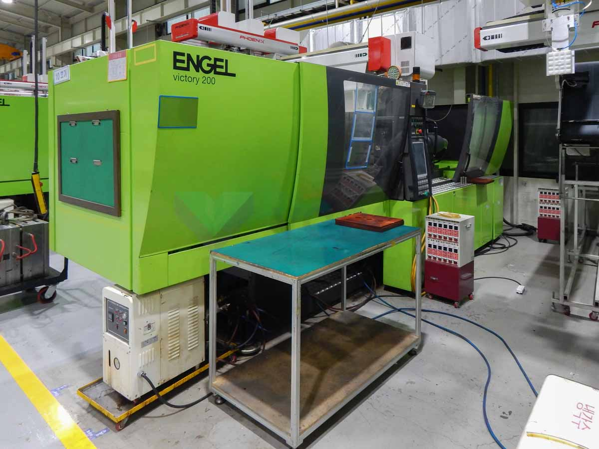 ENGEL VICTORY VC 650 / 160 TECH PRO 160t injection molding machine (2013) id10131