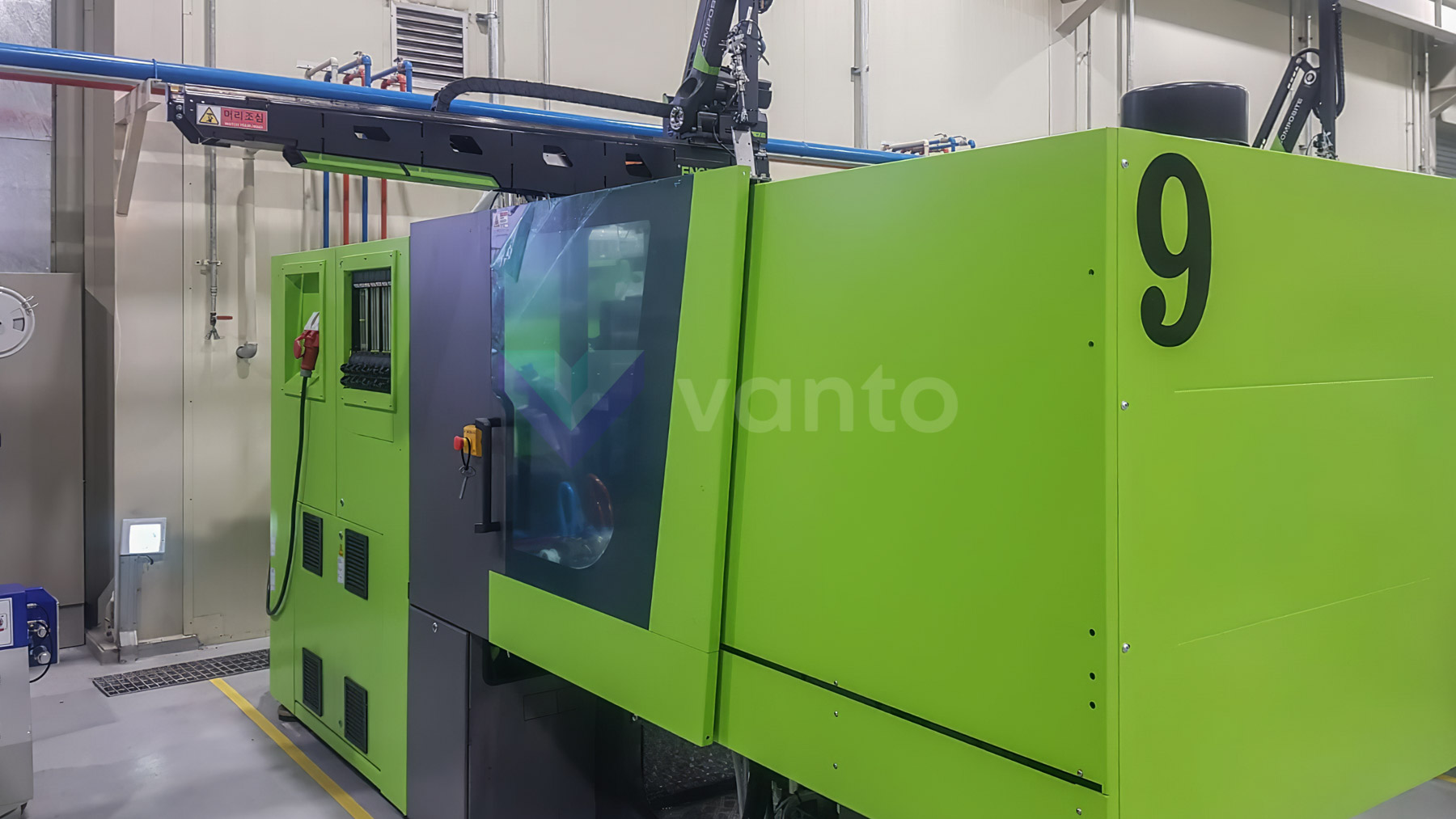 ENGEL VICTORY VC 330 / 80 TECH PRO 80t injection molding machine (2018) id10411
