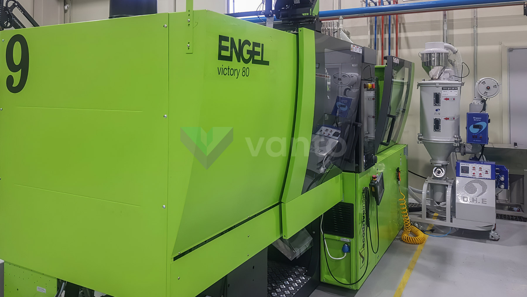 ENGEL VICTORY VC 330 / 80 TECH PRO 80t injection molding machine (2017) id10410