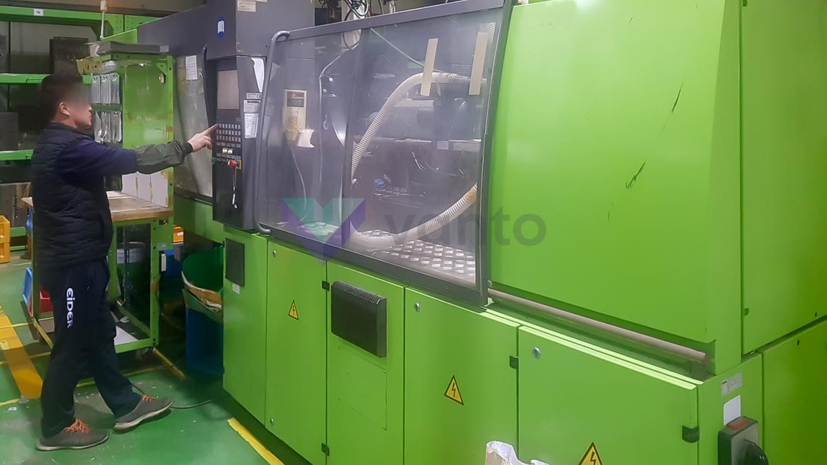 ENGEL VICTORY VC 500 / 150 TECH PRO 150t injection molding machine (2008) id10318