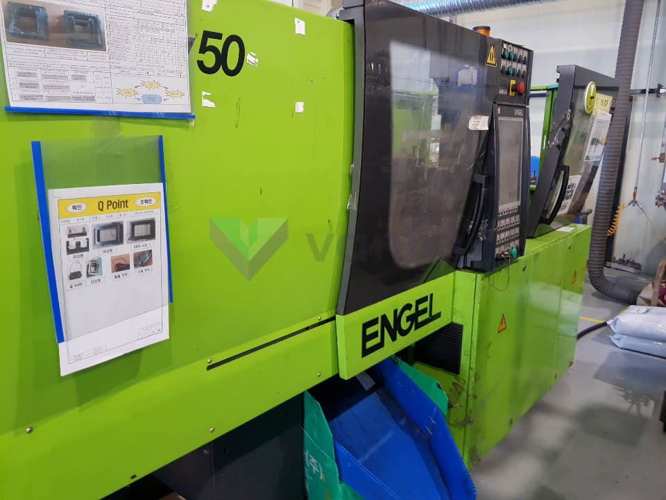 ENGEL VICTORY VC 80 / 50 TECH PRO 50t injection molding machine (2009) id10319