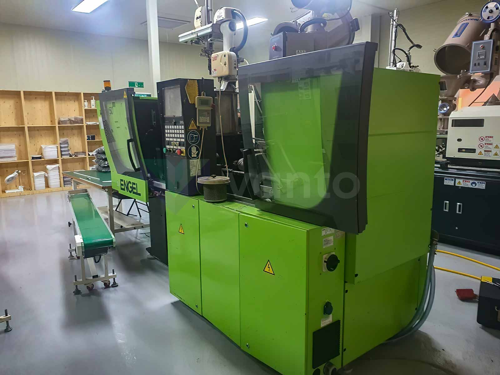 ENGEL VICTORY VC 80 / 50 TECH PRO 50t injection molding machine (2007) id10539