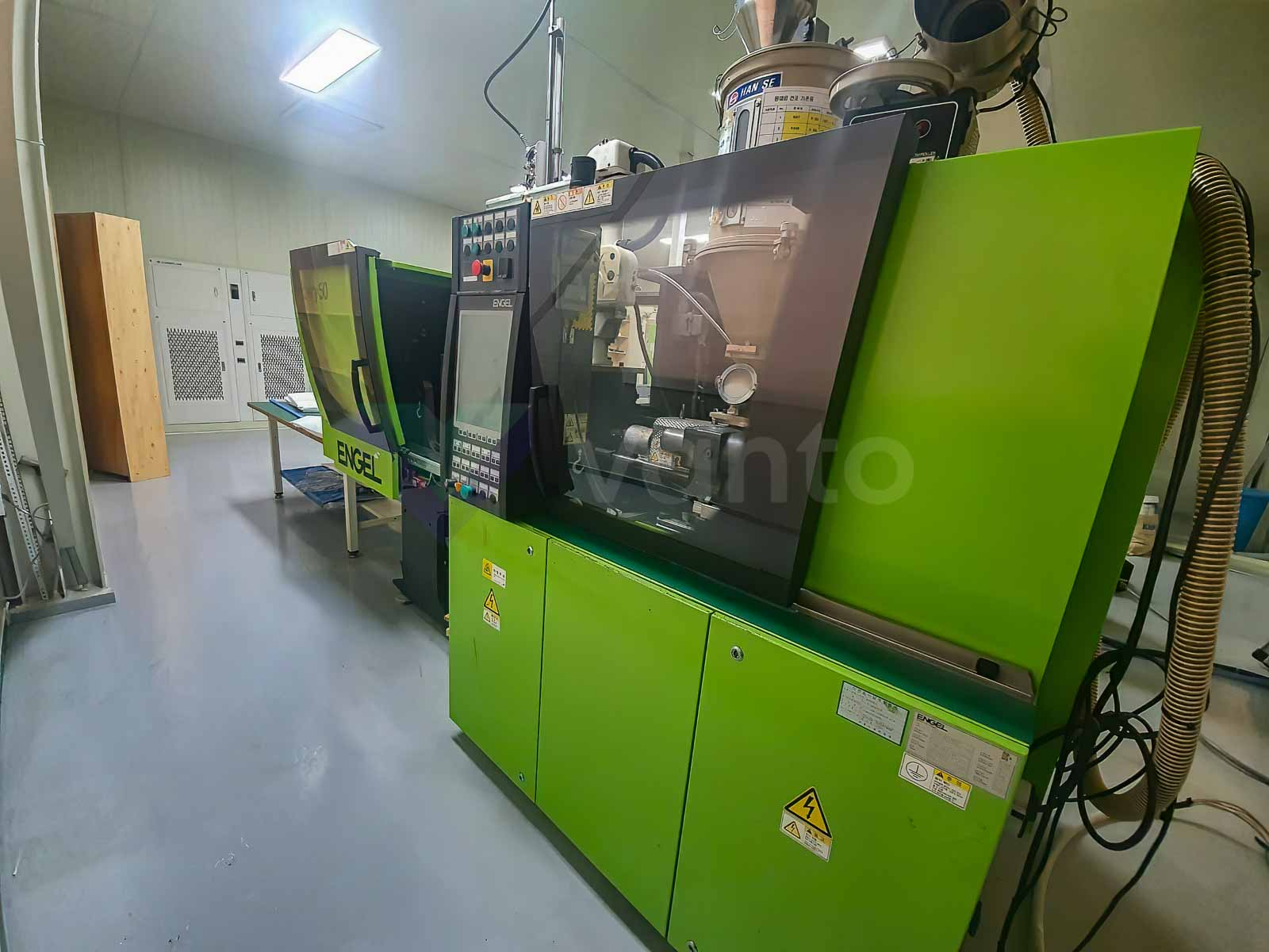 ENGEL VICTORY VC 80 / 50 TECH PRO 50t injection molding machine (2010) id10540