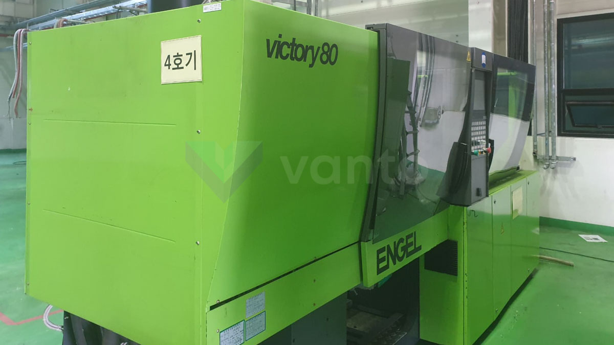 ENGEL VICTORY VC 200 / 80 TECH PRO 80t injection molding machine (2008) id10206