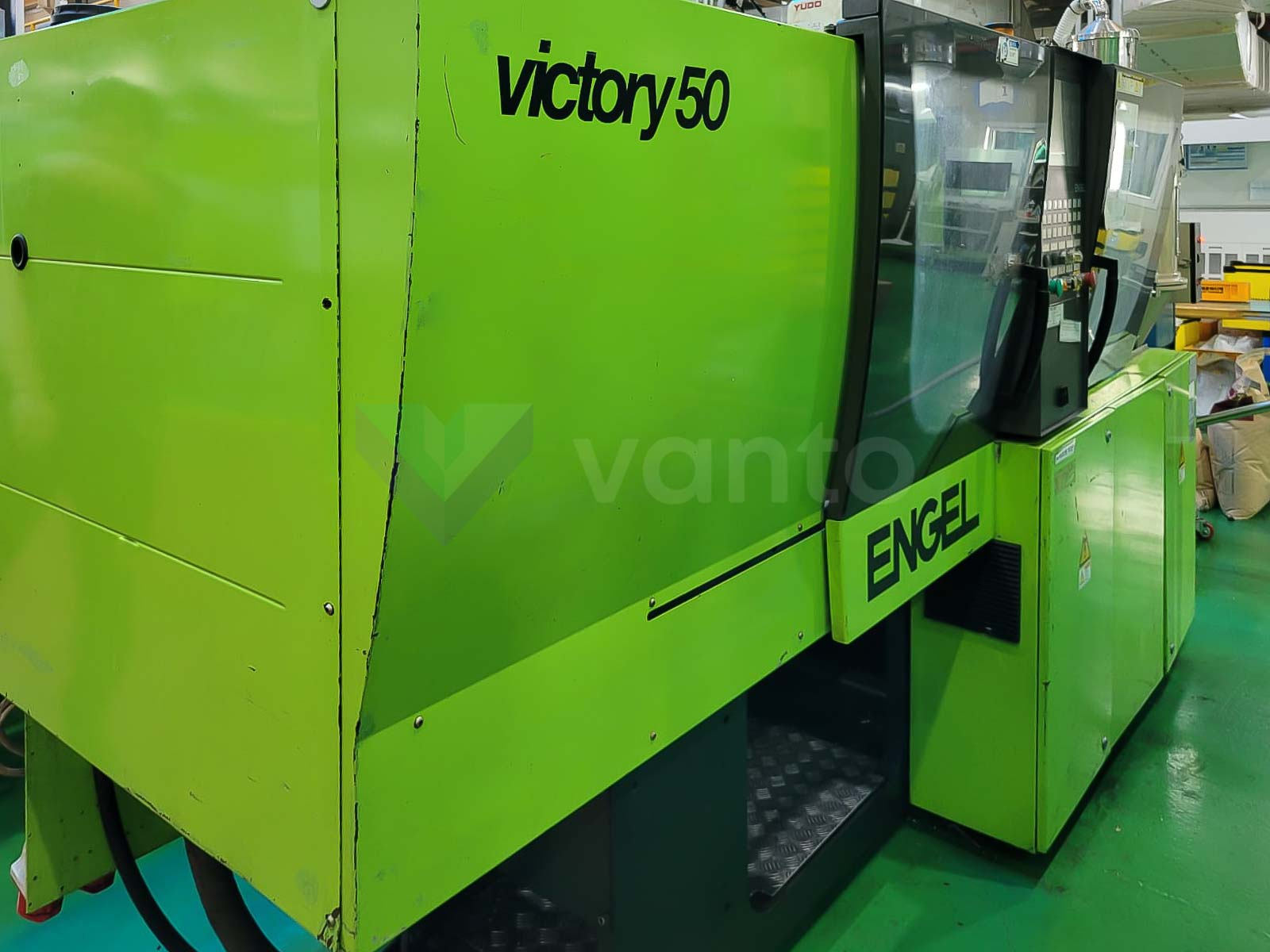 ENGEL VICTORY VC 80 / 50 TECH PRO 50t injection molding machine (2010) id10527