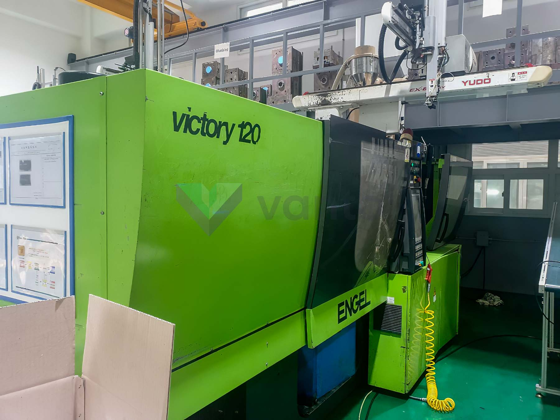 ENGEL VICTORY VC 200 / 120 TECH PRO 120t injection molding machine (2009) id10380