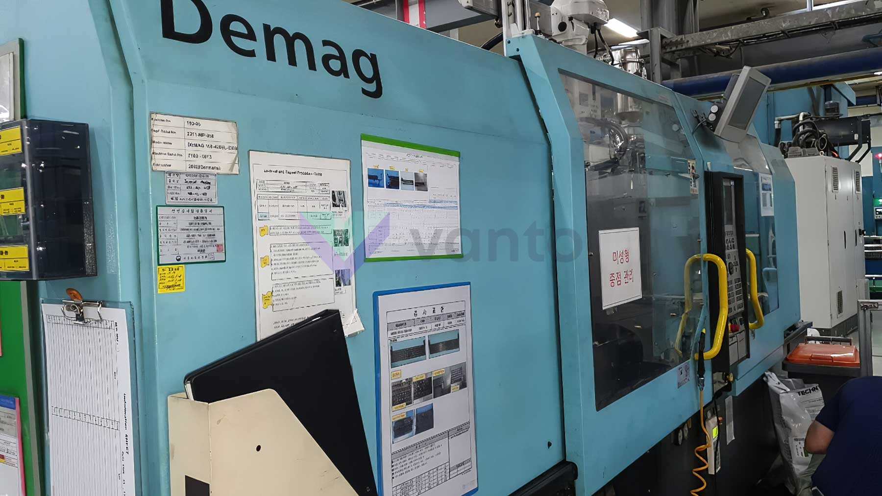 DEMAG Ergotech EL EXIS E 1000/420 310 100t all-electric injection molding machine (2002) id10381