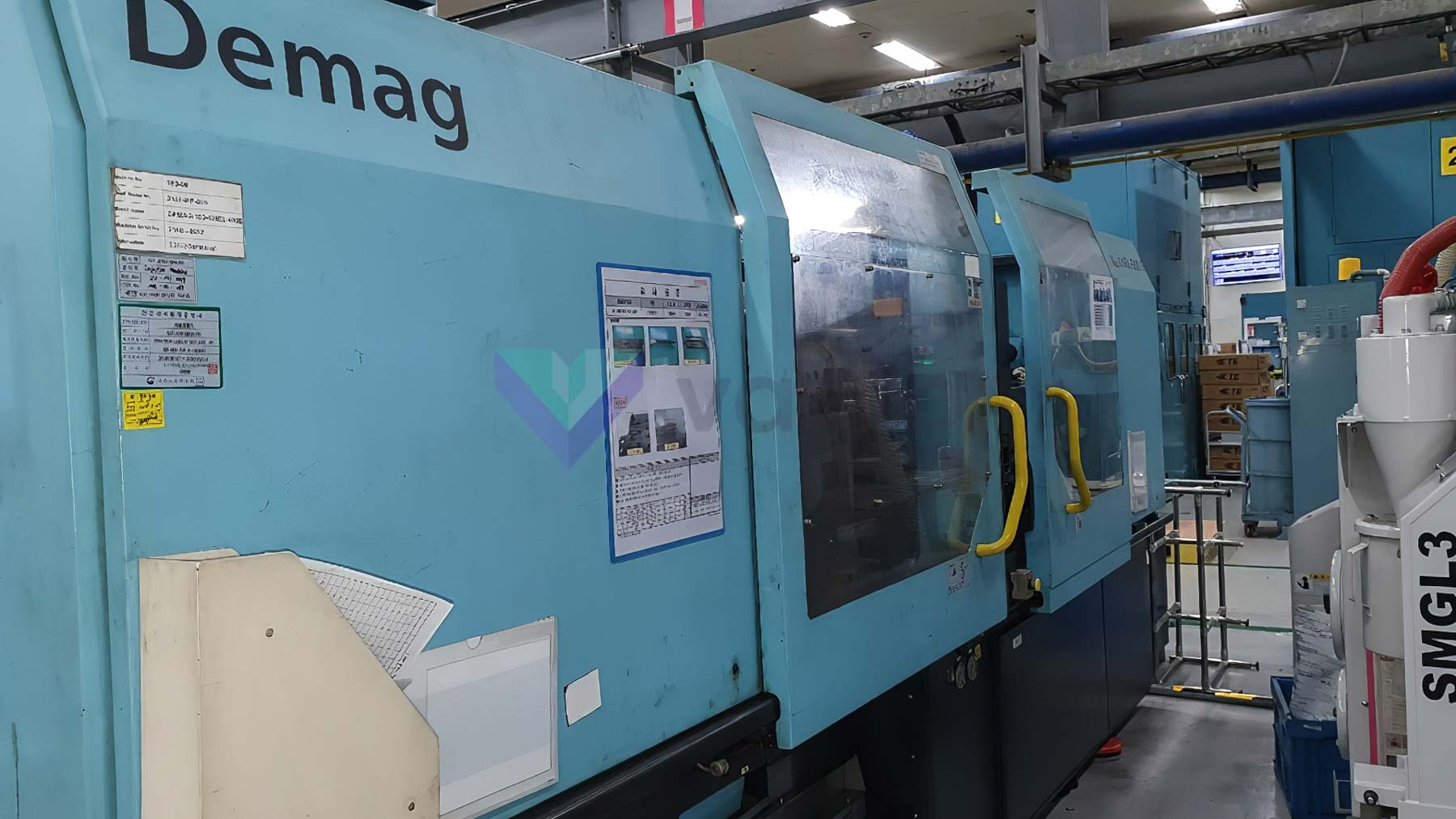DEMAG Ergotech EL EXIS E 1000/420 310 100t all-electric injection molding machine (2002) id10382