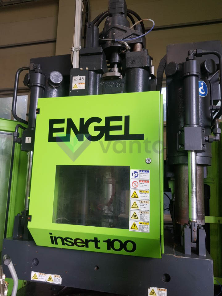 ENGEL INSERT 500V/100 ECO PRO 100t vertical injection molding machine (2014) id10333