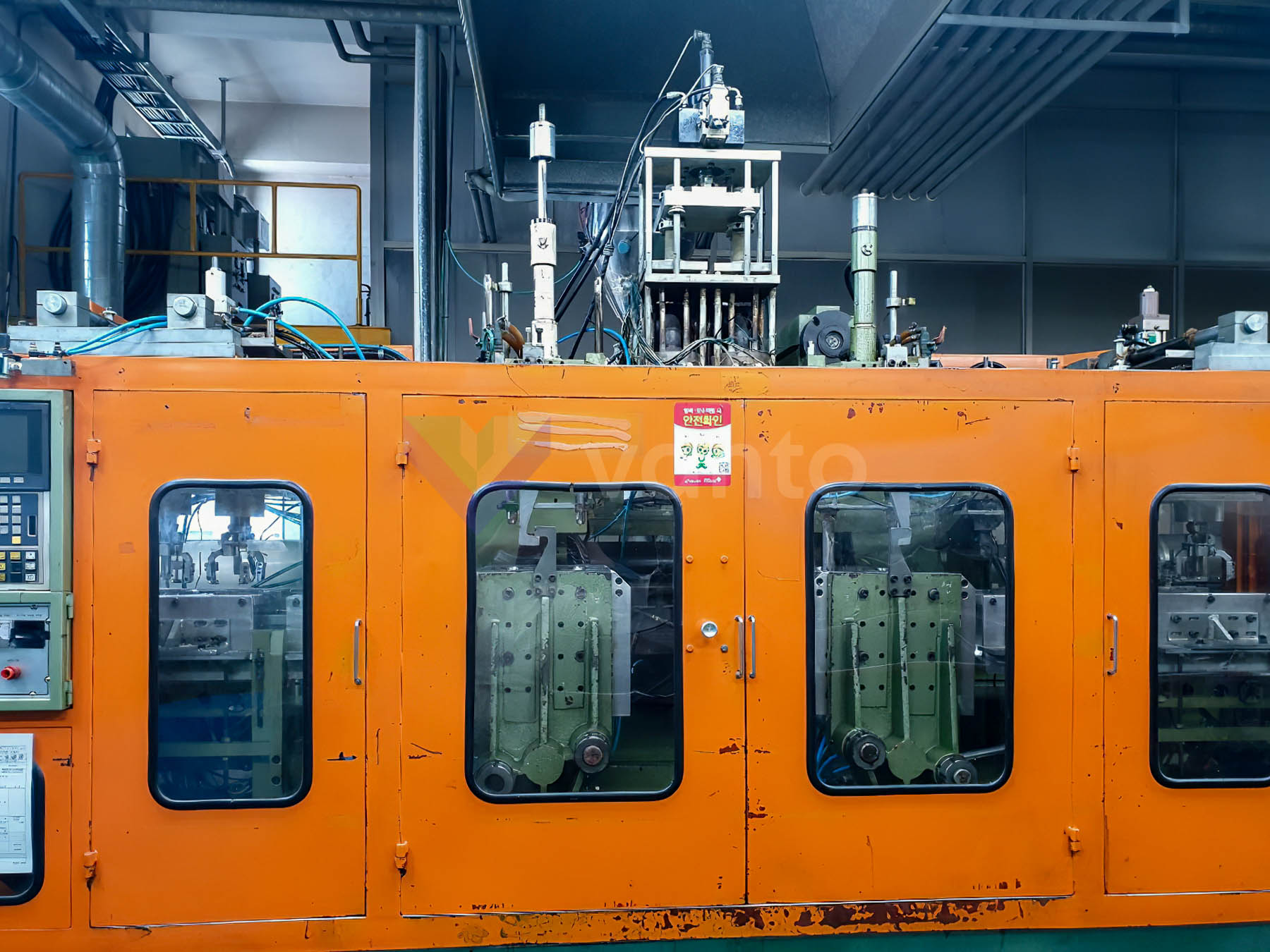 KYUNG WON L90.50DTP Extrusion blow moulding machines (1996) id10385