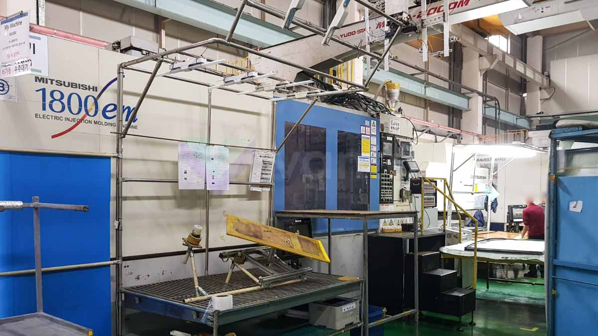 Máquina de moldeo por inyección de 1800t MITSUBISHI 1800-EM (2007) id10202