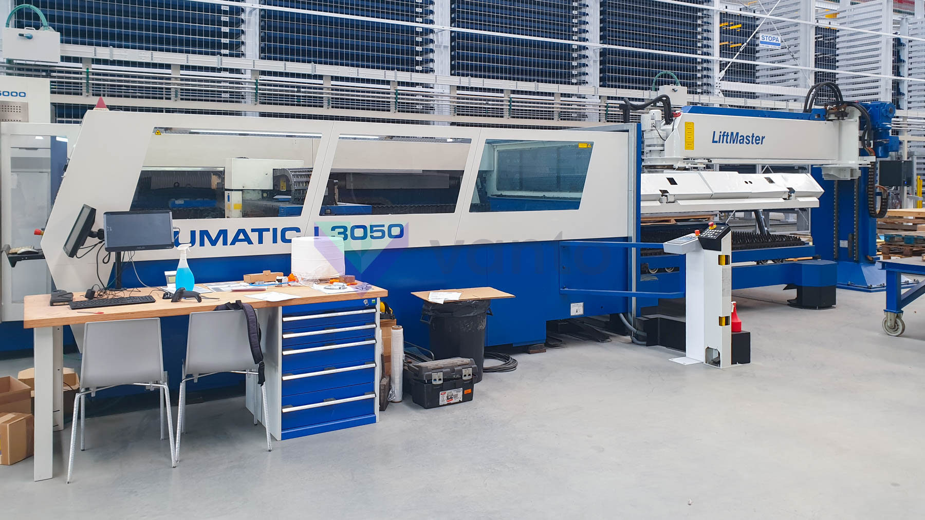Machine de découpe laser (CO2) TRUMPF TRUMATIC L3050 (2002) id10269