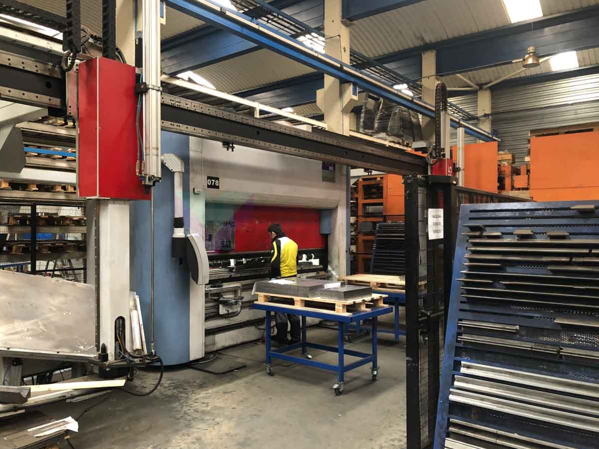 SCHIAVI FLEXA 3100 RSC45 CNC Bending machine (2007) id10147