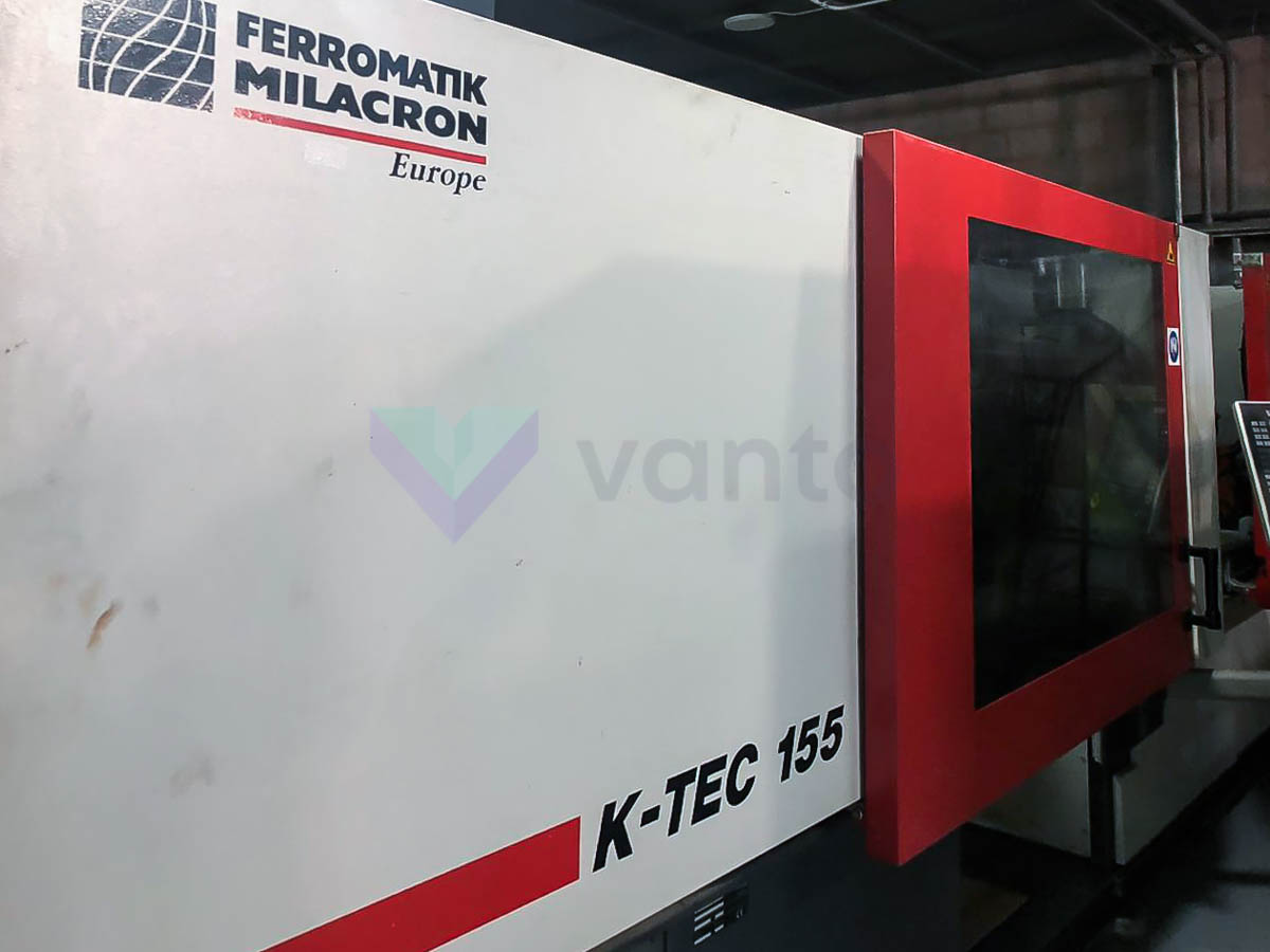 FERROMATIK K 155 155t injection molding machine (2010) id10155