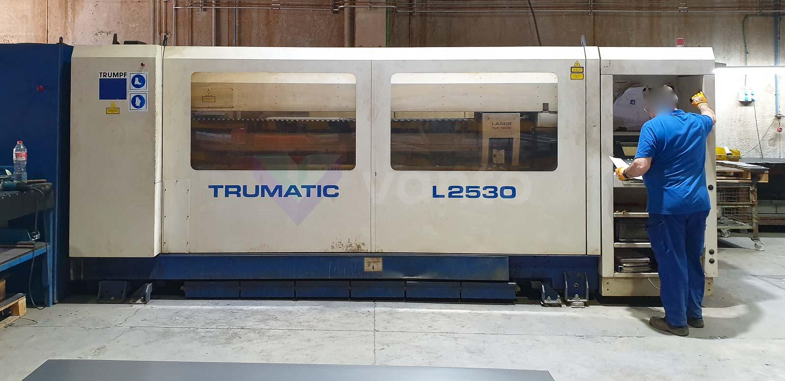Macchina da taglio laser (CO2) TRUMPF TRUMATIC L2530 (1998) id10583