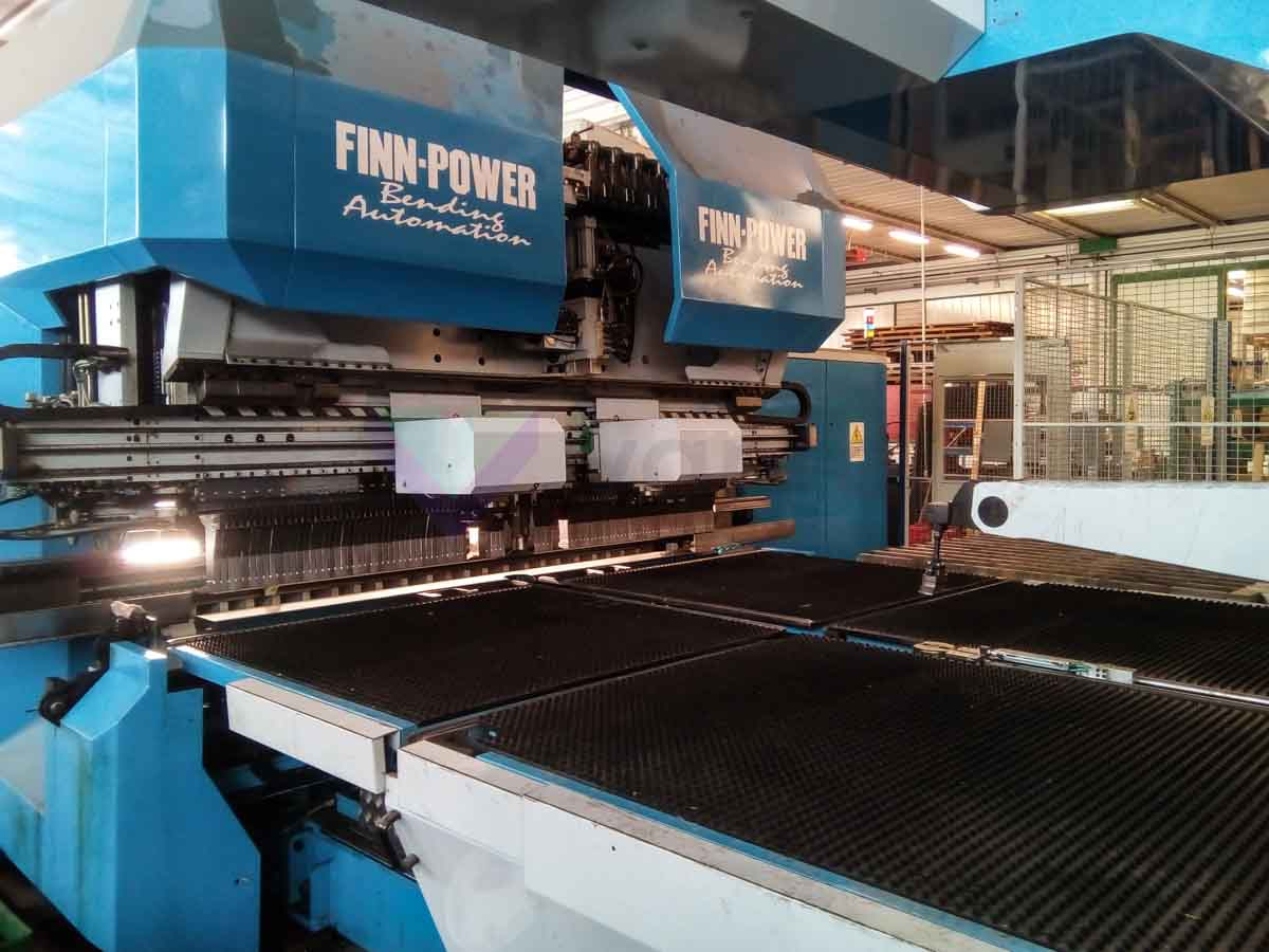 FINN POWER EB5 200 Automatic Panel Bending Machine (2002) id10162