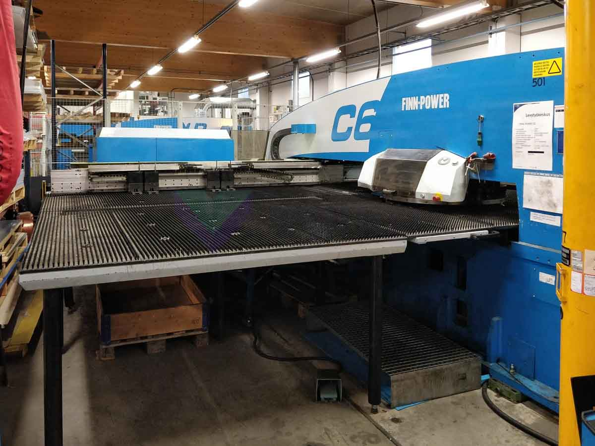 FINN POWER C6 CNC punching machine (2006) id10166