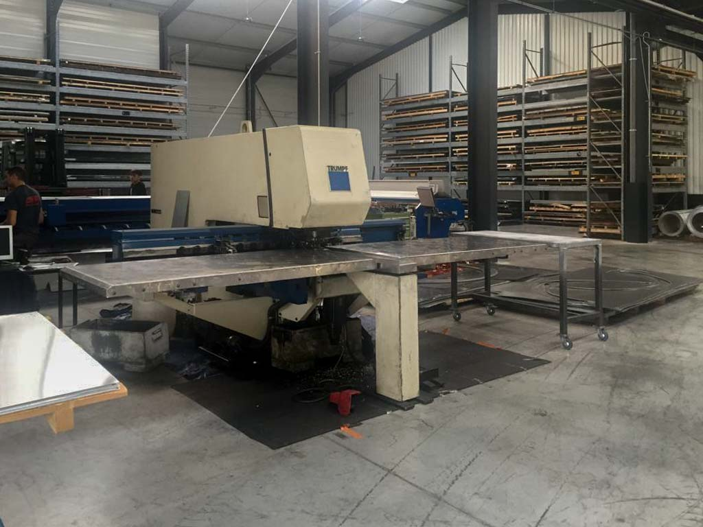TRUMPF TC 190 R CNC punching machine (1996) id10276