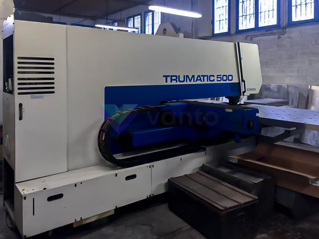 TRUMPF TC 500 R CNC punching machine (1997) id10275