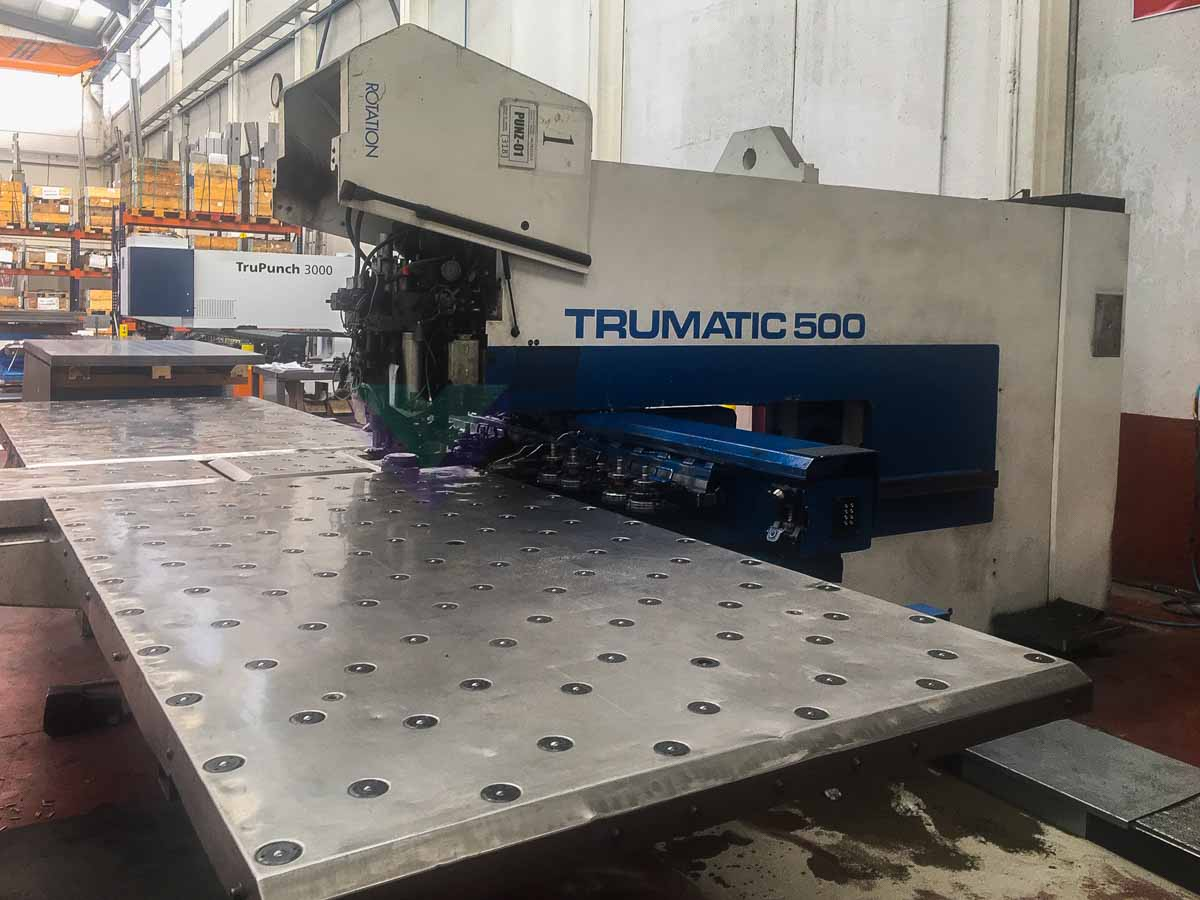 TRUMPF TC 500 R CNC punching machine (1998) id10177