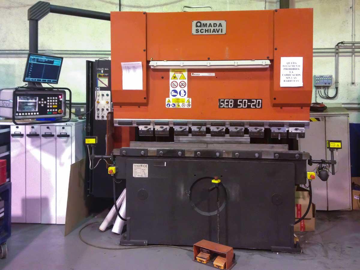 SCHIAVI SEB 50-20 AE CNC Bending machine (2001) id5308