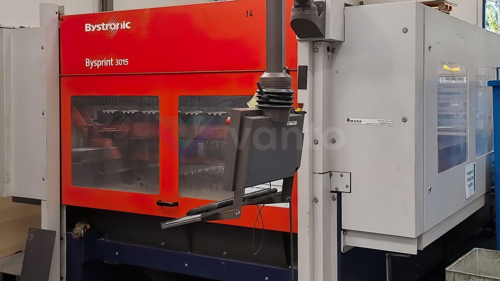 BYSTRONIC BYSPRINT 3015 Laser cutting machine (CO2) (2007) id10575