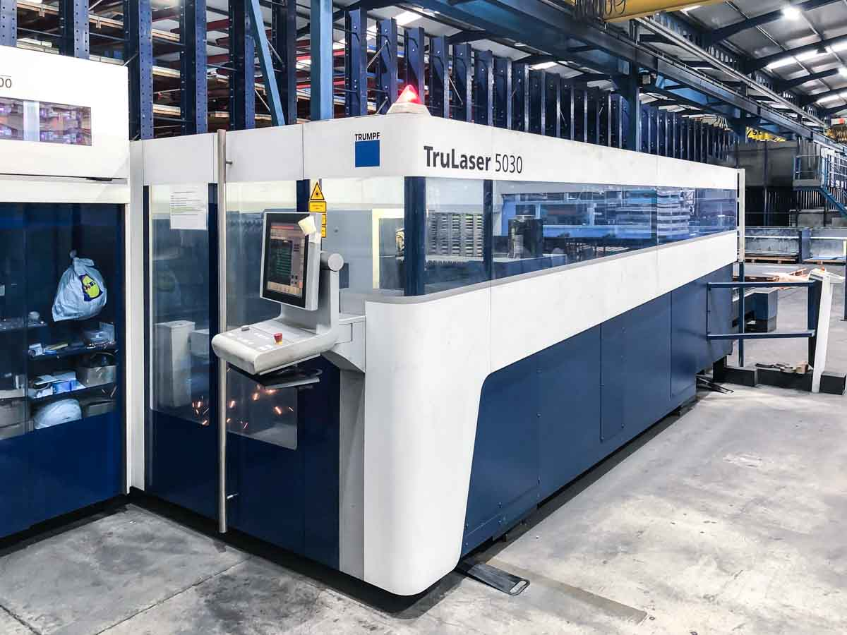 TRUMPF TruLaser 5030 Laser cutting machine (CO2) (2014) id10187