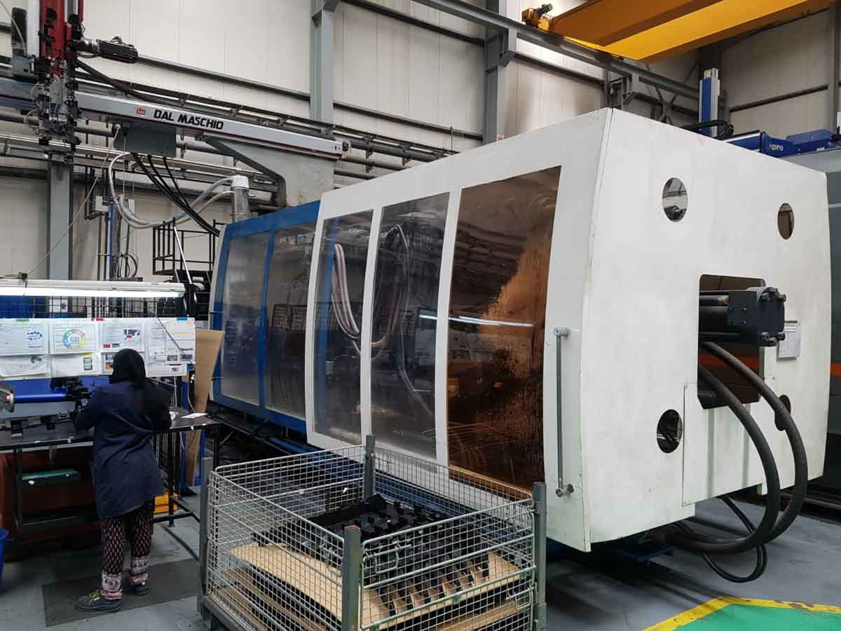 PROTECNOS PTX1000 1000t injection molding machine (2011) id10197