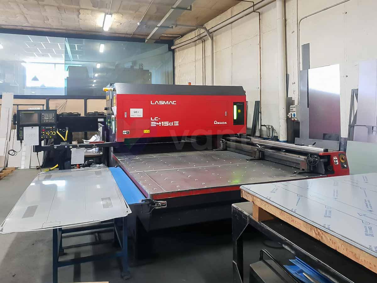 AMADA LC 2415 ALPHA III Laser cutting machine (CO2) (2000) id10208
