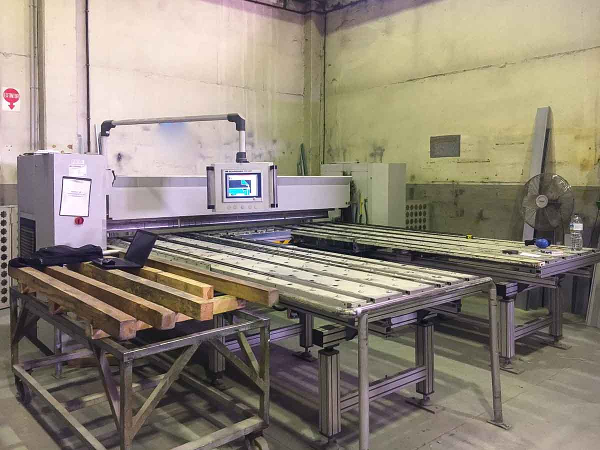 SCHRODER SPB 3200/30 Automatic Panel Bending Machine (2002) id10209