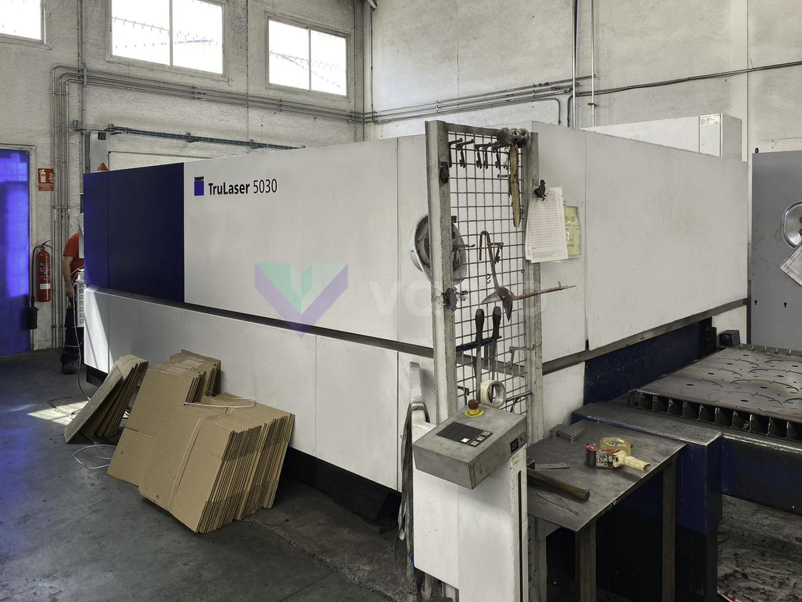 TRUMPF TruLaser 5030 fiber Laser cutting machine (Fiber) (2016) id10449