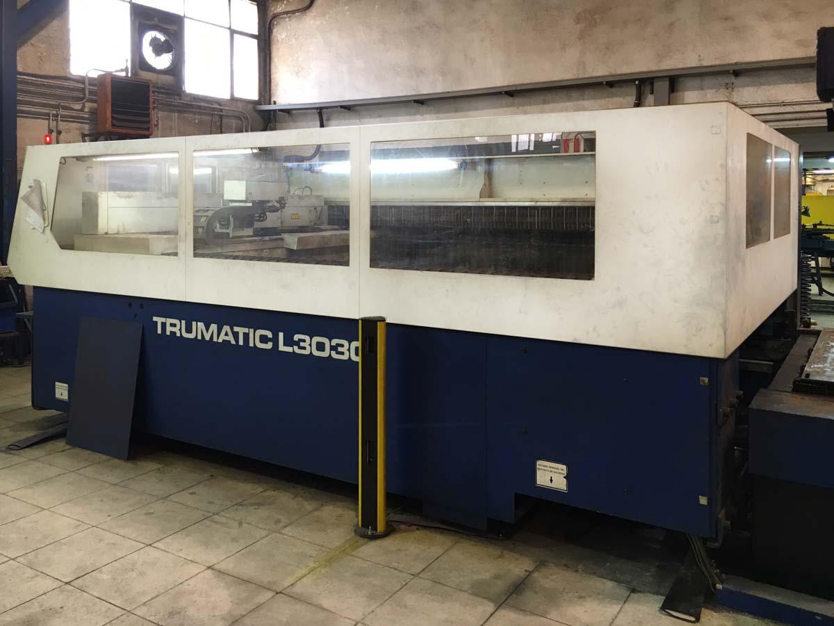 Máquina de corte láser (CO2) TRUMPF TRUMATIC L3030 (2003) id10235