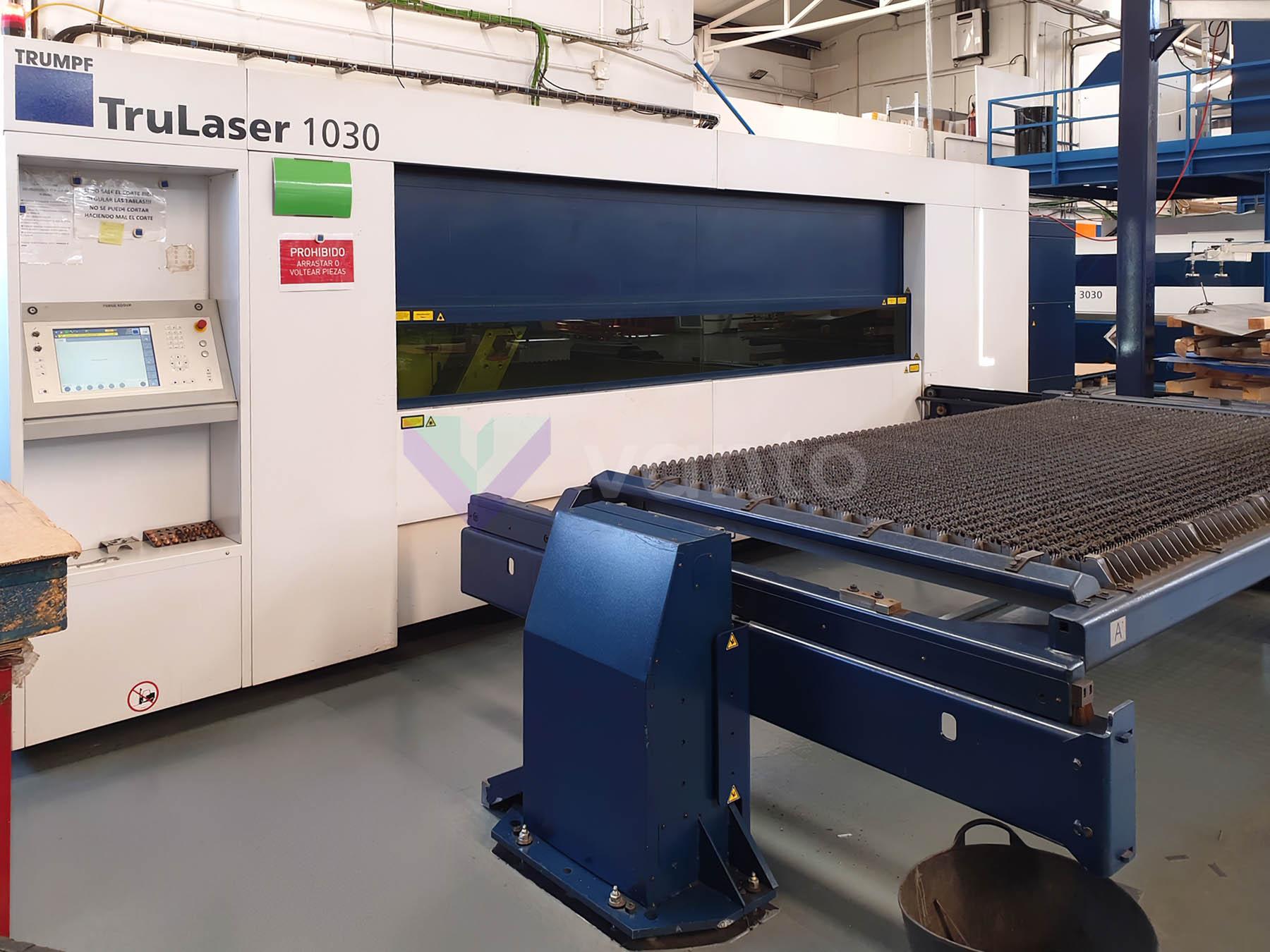 Máquina de corte láser (Fibra) TRUMPF TruLaser 1030 fiber (2014) id10392