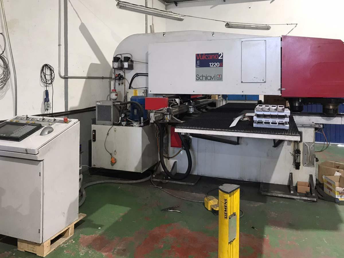 SCHIAVI VULCANO 2 1220 X CNC punching machine (2007) id10251