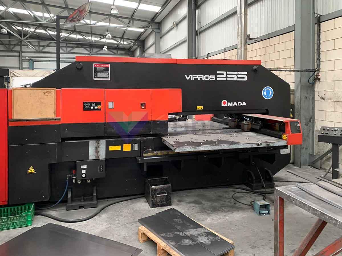 AMADA VIPROS 255 CNC punching machine (2000) id10328