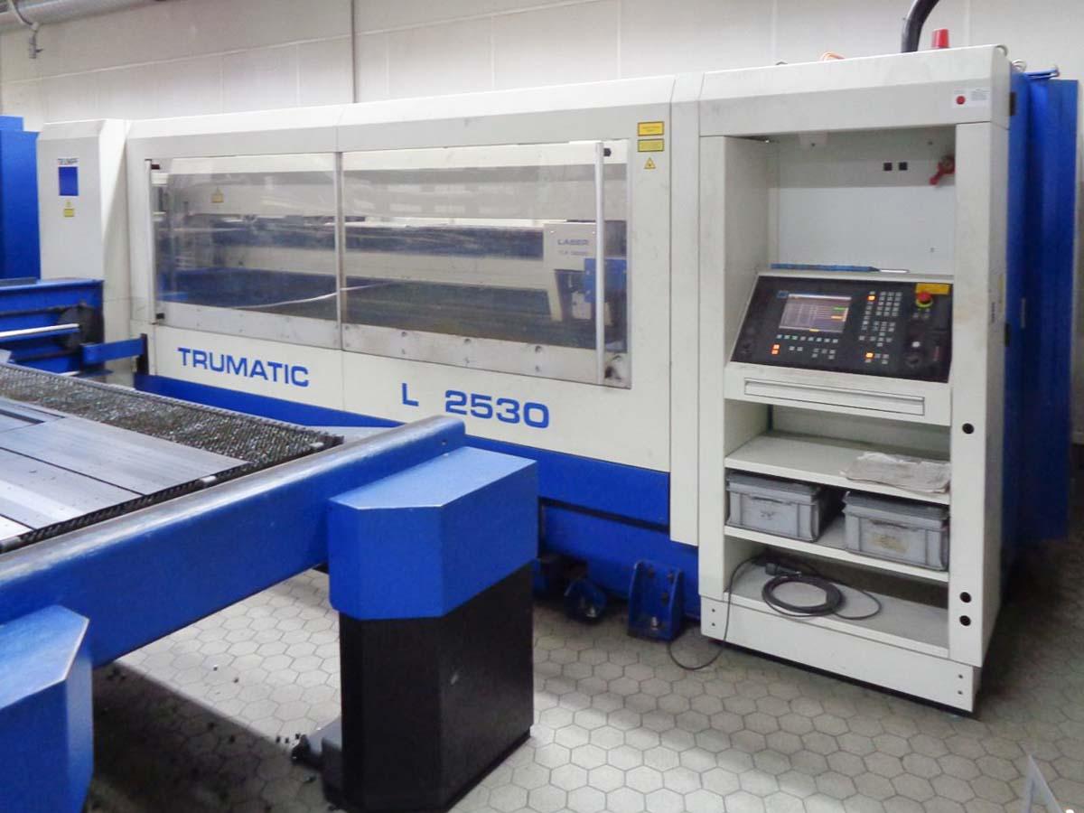 Machine de découpe laser TRUMPF TRUMATIC L2530 (2001) id10327
