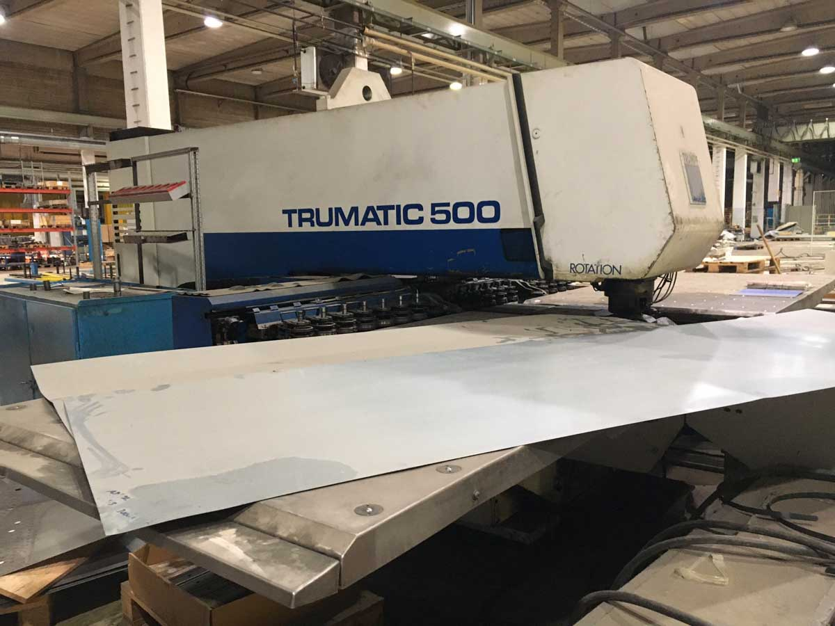 TRUMPF TC 500 R - 1600 CNC punching machine (1990) id10282