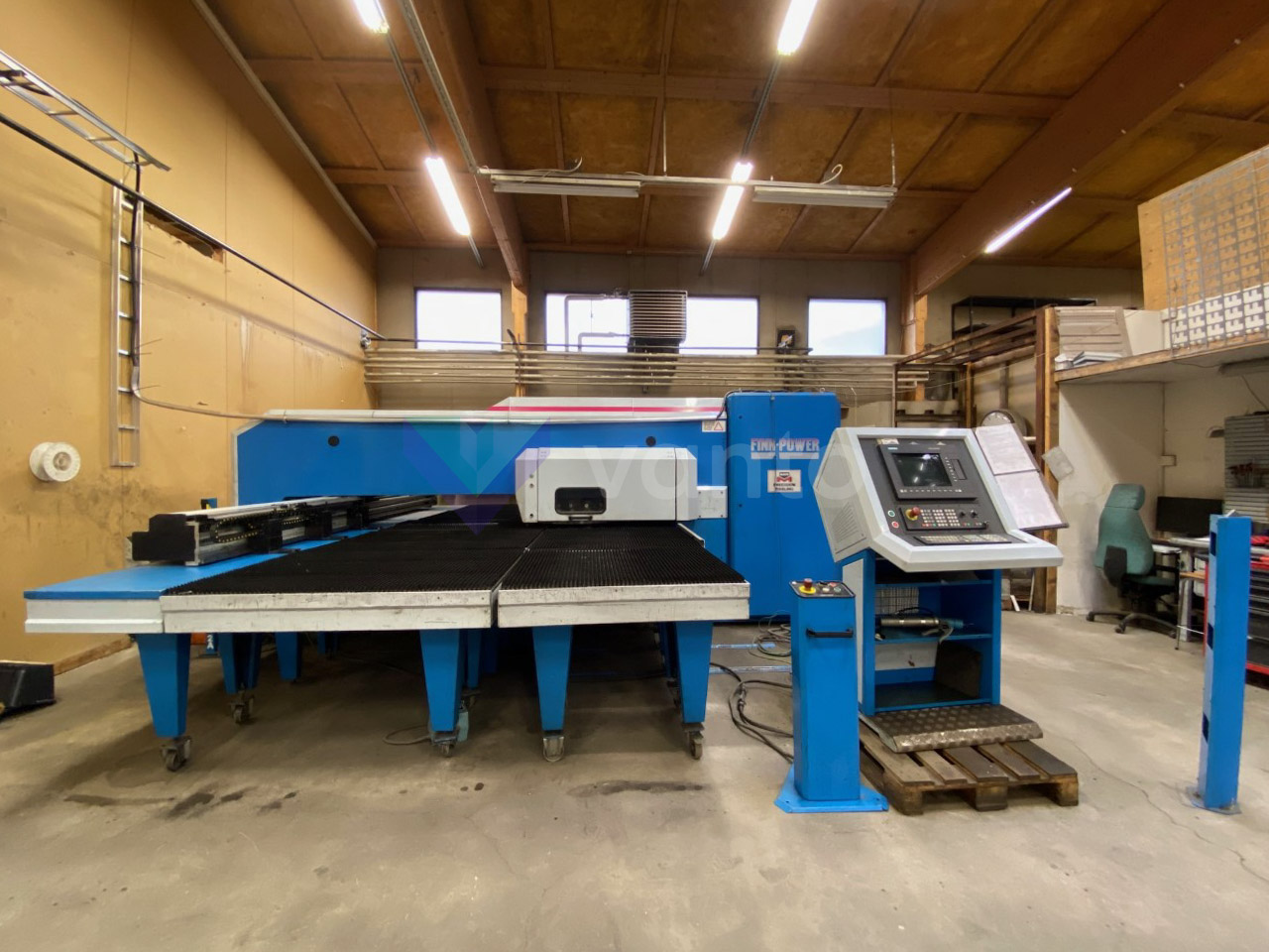 CNC delme makinesi FINN POWER A5 20 (1997) id10463