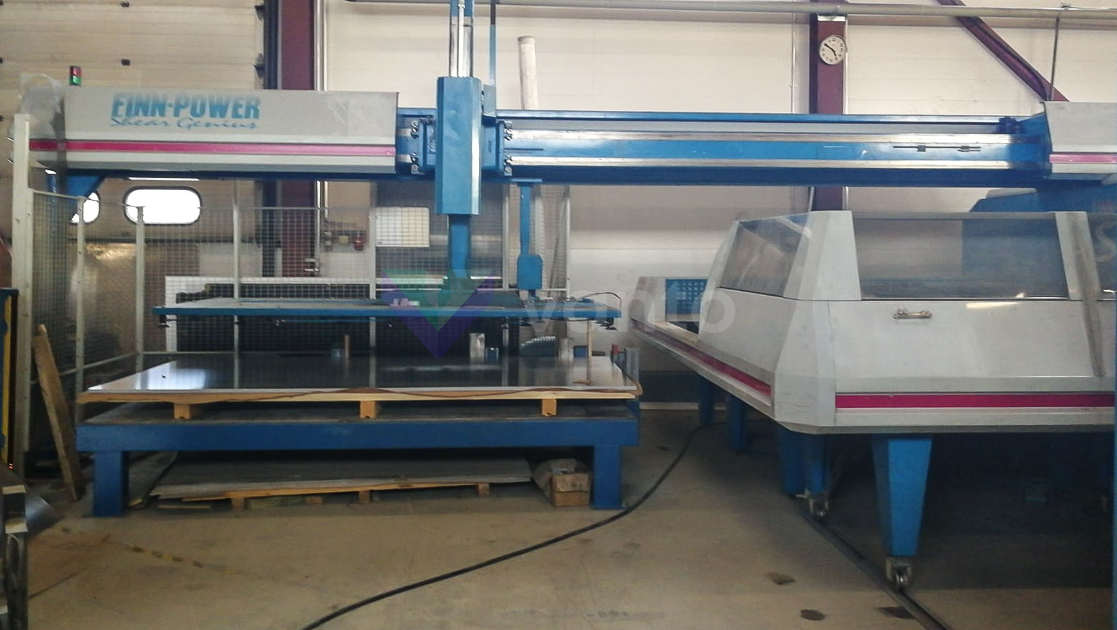 FINN POWER TRS6 CNC punching machine (1997) id10432